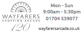 120 years of shopping at Wayfarers Arcade Southport.